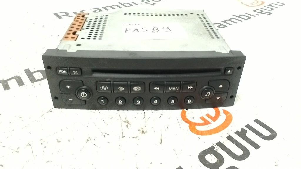 Radio Lettore CD Citroen c3 pluriel
