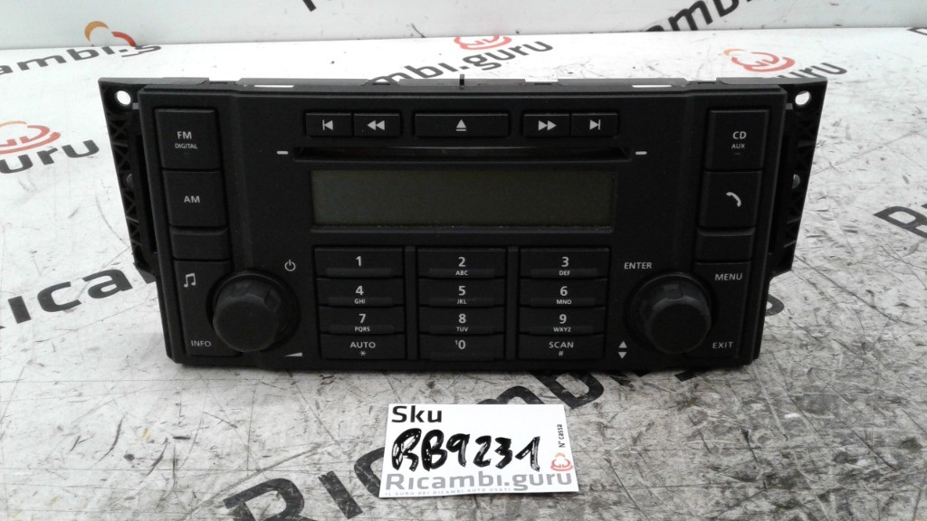 Comandi Radio Lettore CD Land rover freelander 2