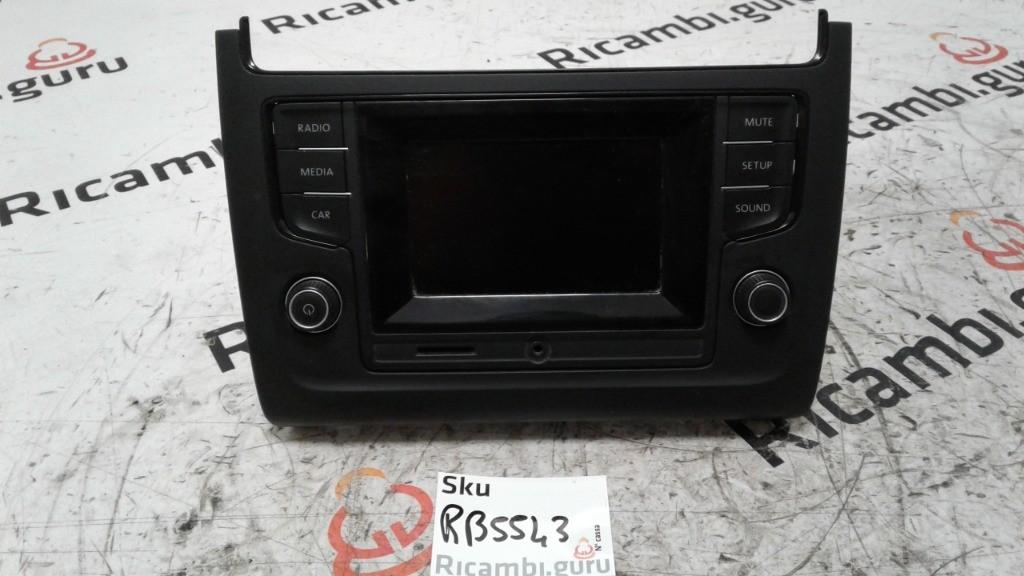 Radio Touchscreen Volkswagen polo