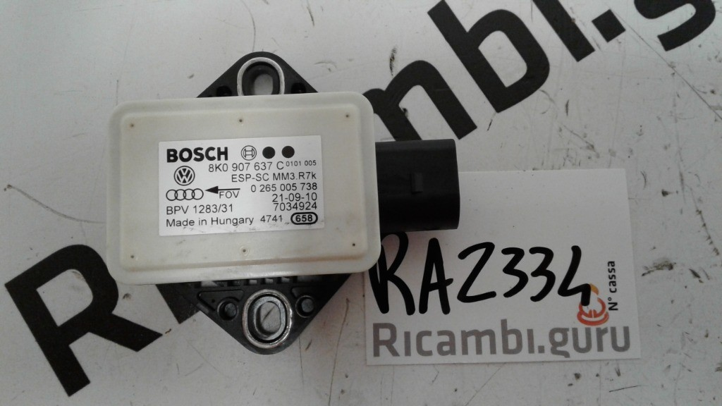 Sensore ESP Audi a5 sportback