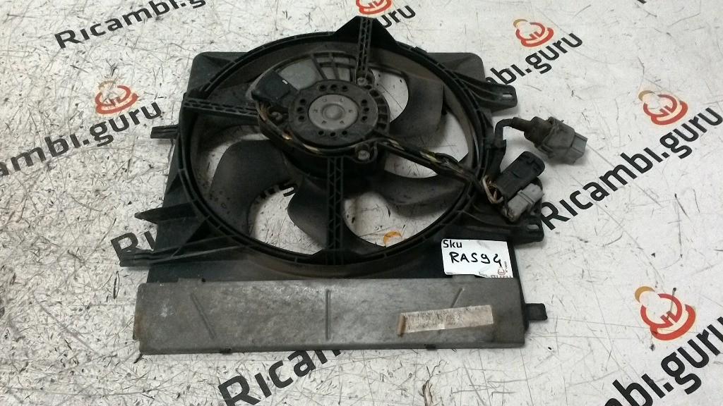 Ventola radiatore Citroen c3 pluriel