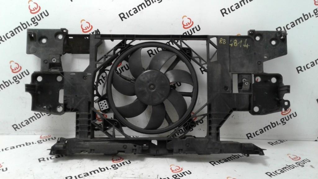 Ventola radiatore con Rivestimento Renault megane